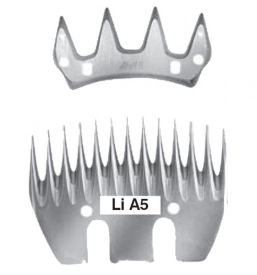 ICE S - Sada nožov A5 pre strihací strojček  e720935fede